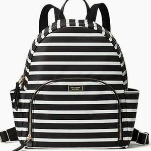 Kate spade large backpack dawn sailing stripe